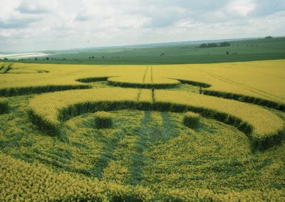 Furze Knoll, Wiltshire | 7th May 1994 | Oilseed Rape P2 35mm Neg Scan