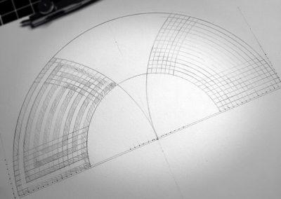 Badbury Rings 2014   Plotting the labyrinthine pathways