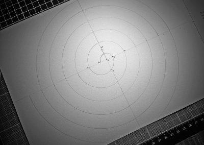 Chilcomb Down 2014 | Spiral protocol with compass & straight edge