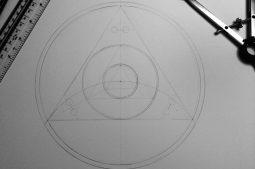 Etchilhampton Hill 2014 | Pencil line work
