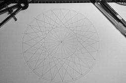Nettle Hill 2014 | 24-fold star pencil line