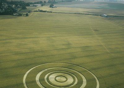 Beckhampton, Wiltshire   22nd July 2003   Wheat L 35mm