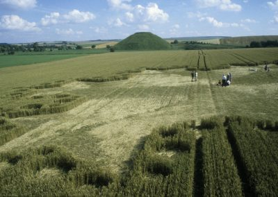 Silbury Hill, Wiltshire | 23rd July 1997 | Wheat P3 35mm