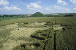 Silbury Hill, Wiltshire | 23rd July 1997 | Wheat P 35mm