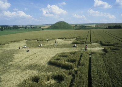 Silbury Hill, Wiltshire | 23rd July 1997 | Wheat P 35mm