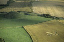 Silbury Hill, Wiltshire   22nd July 1998   Wheat L 35mm