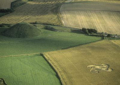 Silbury Hill, Wiltshire | 22nd July 1998 | Wheat L 35mm
