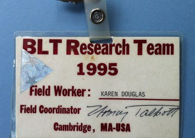BLT Research Badge