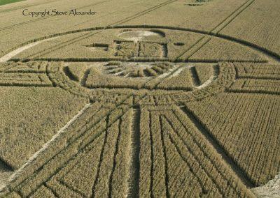 Uffcott Down, nr Barbury Castle, Wiltshire | 25th July 2015 | Wheat CL