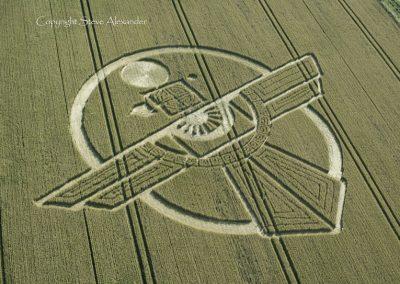 Uffcott Down, nr Barbury Castle, Wiltshire | 25th July 2015 | Wheat OH3
