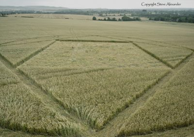 Etchilhampton, Wiltshire | 4th August 2015 | Wheat LOW