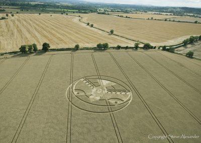 Hampton Lucy, nr Stratford upon Avon, Warwickshire | 8th August 2015 | Wheat L3
