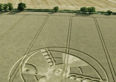 Hampton Lucy, nr Stratford upon Avon, Warwickshire | 8th August 2015 | Wheat L