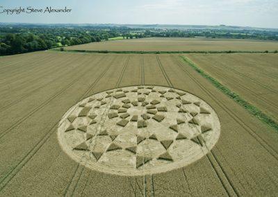 Etchilhampton 2, nr Devizes, Wiltshire | 19th August 2015 | Wheat L2