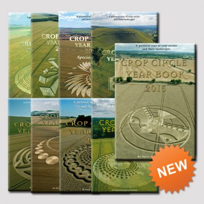 Crop Circle Year Book Set - with new 2015 edition included