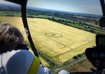 Copyright K. Alexander: View from the backseat - Devizes 2016