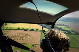 Copyright K. Alexander | View from the back seat: Ansty 2016 - approach