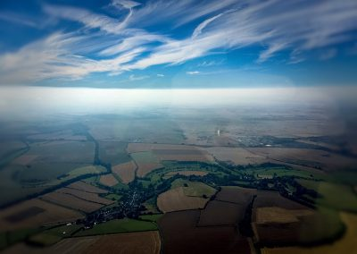 Copyright K. Alexander | View from the back seat: Ansty 2016 - August heat inversion