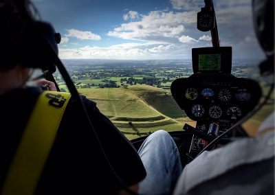 Copyright K. Alexander: View from the backseat - Cley Hill 1