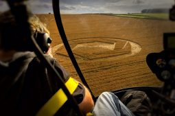Copyright K. Alexander: View form the back seat - Matterley Basin 1
