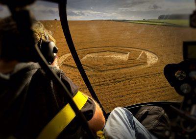 Copyright K. Alexander: View form the back seat - Matterley Basin 1