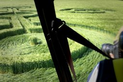 View from the back seat - Milk Hill close-up - Image by K. Alexander