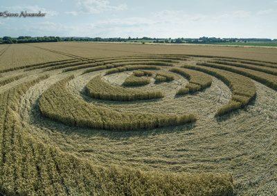 Winterbourne Bassett, Wilts | 14th July 2018 | Wheat Low2