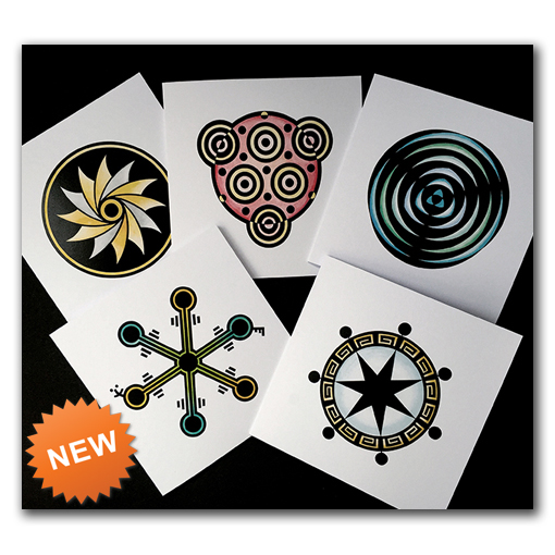 Crop Circle Greetings Cards
