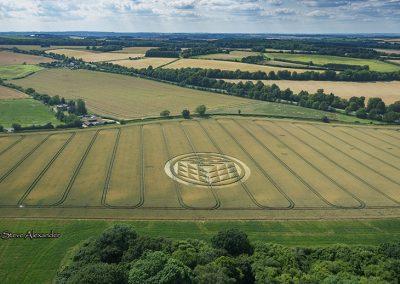 Fulley Wood, nr Tichborne, Hants   16th July 2019   Wheat   LL1