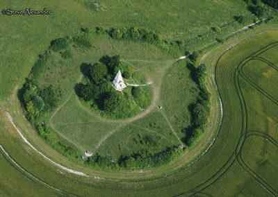 Farley Mount Monument nr Beacon Hill Plantation, Hants | FM