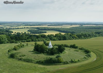 Farley Mount Monument nr Beacon Hill Plantation, Hants | M2