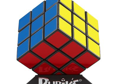 The world famous Rubik's Cube