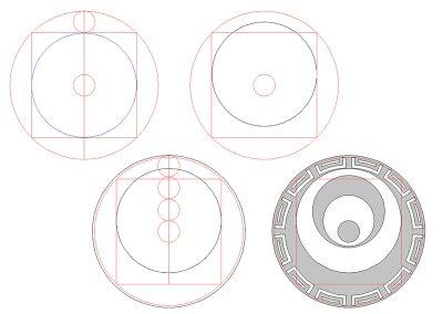 Etchilhampton 2019 | Circles & Squares by  Peter van den Burg