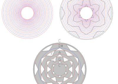 Tufton 2019 | Musical ratios by Peter van den Burg