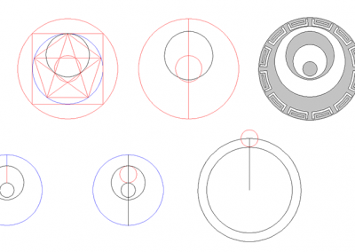 Etchilhampton 2019 | Pentagram and other proportions by Peter van den Burg