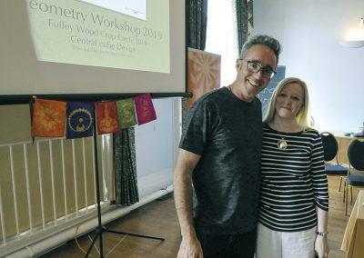 Conference 2019 | Geoff Fitzpatrick & Karen Alexander Geometry Workshops hosts.