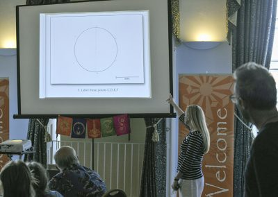 Conference 2019 | Karen leads the group through a drawing exercise