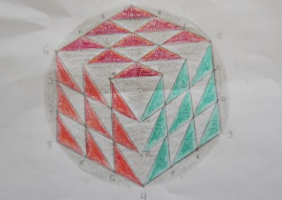 Conference 2019 | Geometry Workshop  - drawing the Fulley Wood cube of 2019