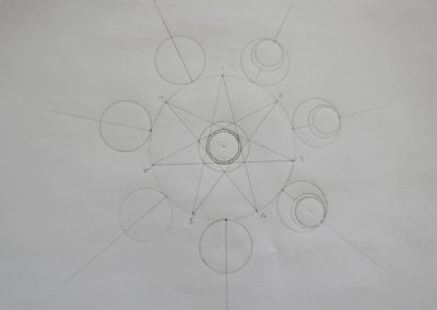 Conference 2019 | Geometry Workshop  - Geoff's finished drawing exercise