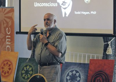 Conference 2019 | Jungian Therapist Todd Hayen  talks about crop circles and the collective unconscious.