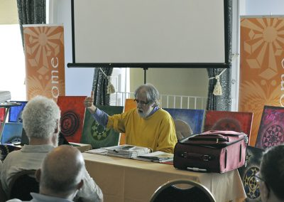 Conference 2019 | Prof. Jonathan-Paul DeVierville brings, not his Red Book, but his Red Case to the conference!