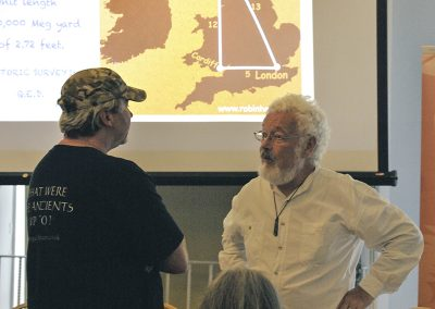 Conference 2019 | Robin Heath talks 5, 12, 13 triangles on the landscape