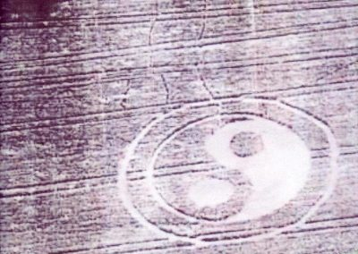 The first Yin-Yang crop circle? | Midlands (possibly Coventry), UK | 1996?