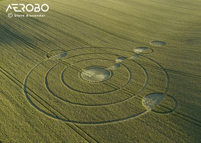 Luxenborough, nr. Stonehenge, Wilts | 16th July 2020 | Wheat |  Low3T