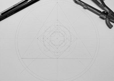 Eastern Royal, Wilts. 2020   Pencil Line   by Karen Alexander