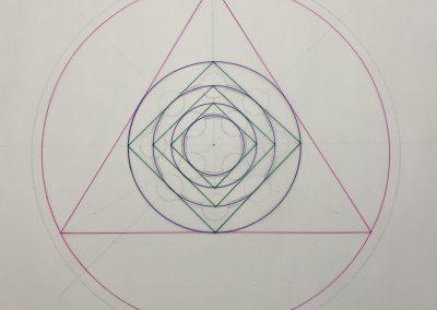 Eastern Royal, Wilts. 2020   Geometry over-lay   by Karen Alexander