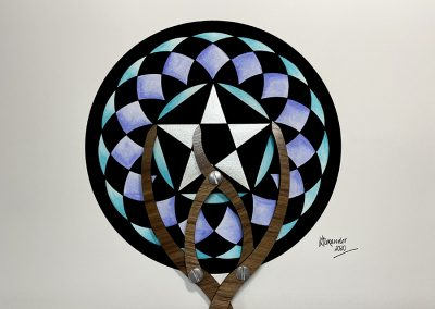 Longwood Warren, Hants 2020 | Phi in the pentagram | by Karen Alexander