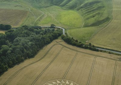 Uffington Castle, Oxon | 9th August 2020 | Wheat | L