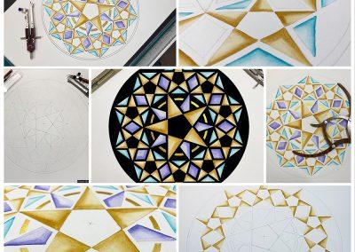 Hackpen Hill 2020 | Collage 2 | by Karen Alexander