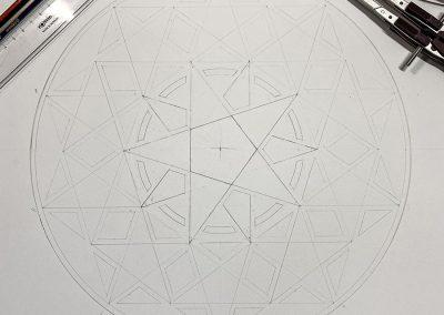 Hackpen Hill 2020 | Pencil-line by Karen Alexander